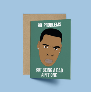 Jay Z, 99 Problems, But Being a Dad Ain't One Father's Day Card