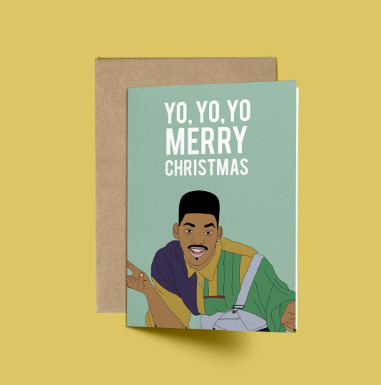 Will Smith, YO YO YO Merry Christmas, Christmas Card