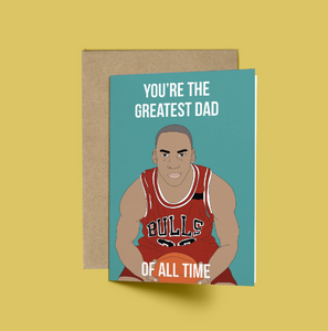 Michael Jordan, Greatest Dad of all Time Card