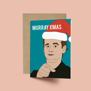 Bill Murray, Murray XMAS Funny Christmas Card
