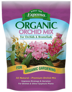 Espoma Organic Orchid Potting Mix 4 Quart Bag