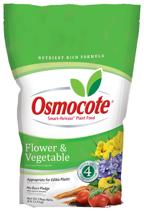 Osmocote Flower & Vegetable Slow Release Fertilizer 8lb