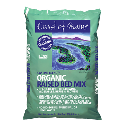 Coast of Maine Organic Castine Blend Raised Bed Mix 2 Cubic Foot Bag