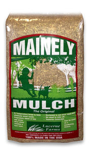 Mainely Mulch Bagged Straw 2.4 Cubic Foot Bag