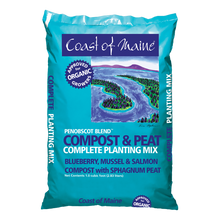 Load image into Gallery viewer, Coast of Maine Organic Penobscot Blend Compost 1 Cubic Foot Bag