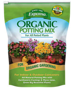 Espoma Organic Potting Mix 8 Quart Bag