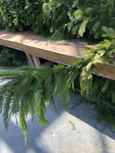 Load image into Gallery viewer, Douglas Fir & Western Red Cedar Mix Garland By The Yard