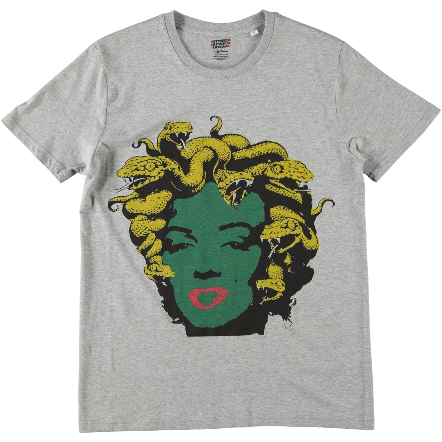 SRM x Trafford Parsons Marilyn Medusa Tee Grey Heather