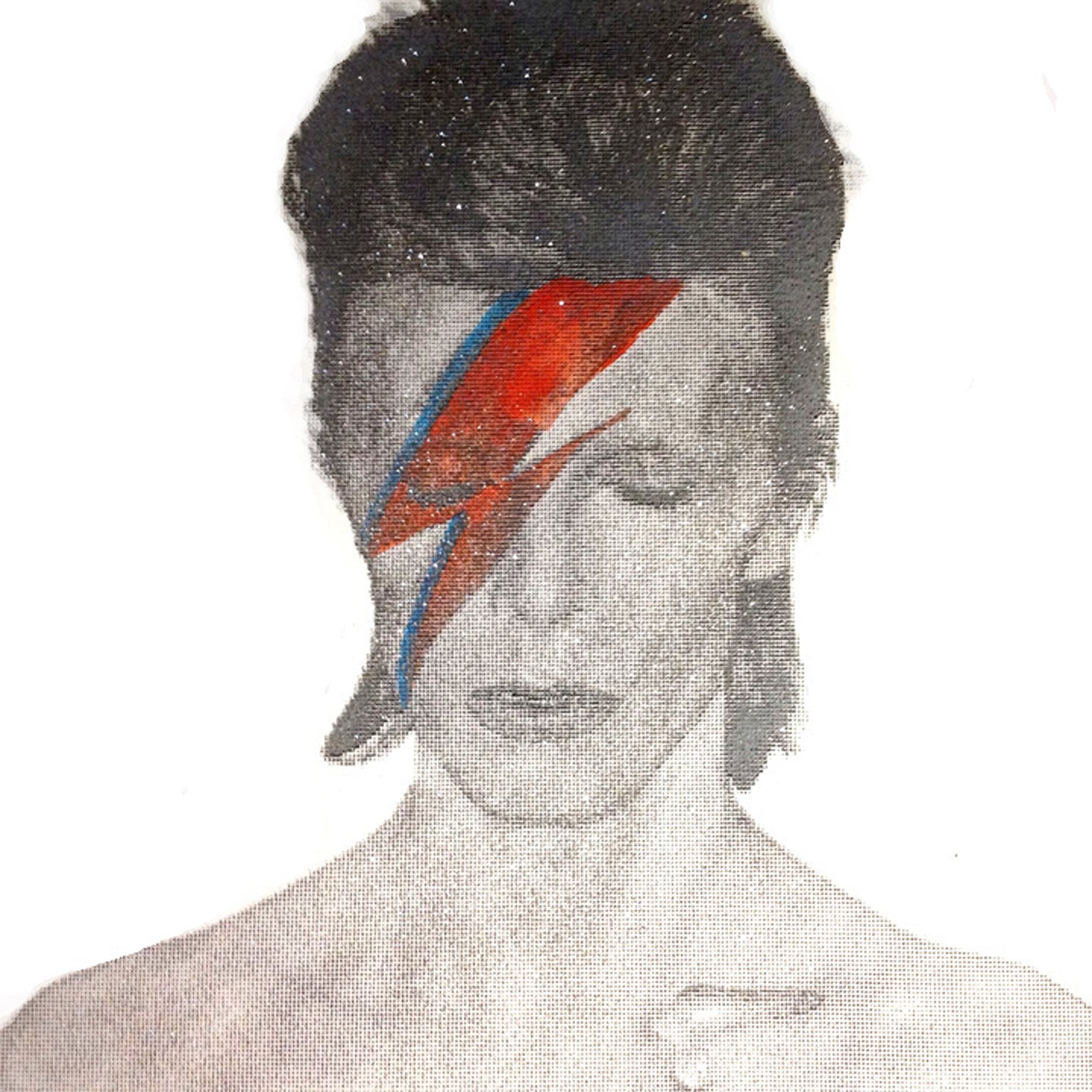 David Bowie Aladdin Sane Diamond Dust Print