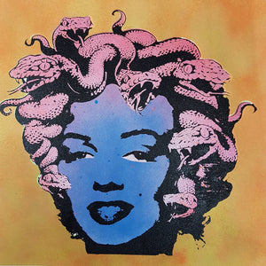 """Marilyn Medusa"" studio proof 3"