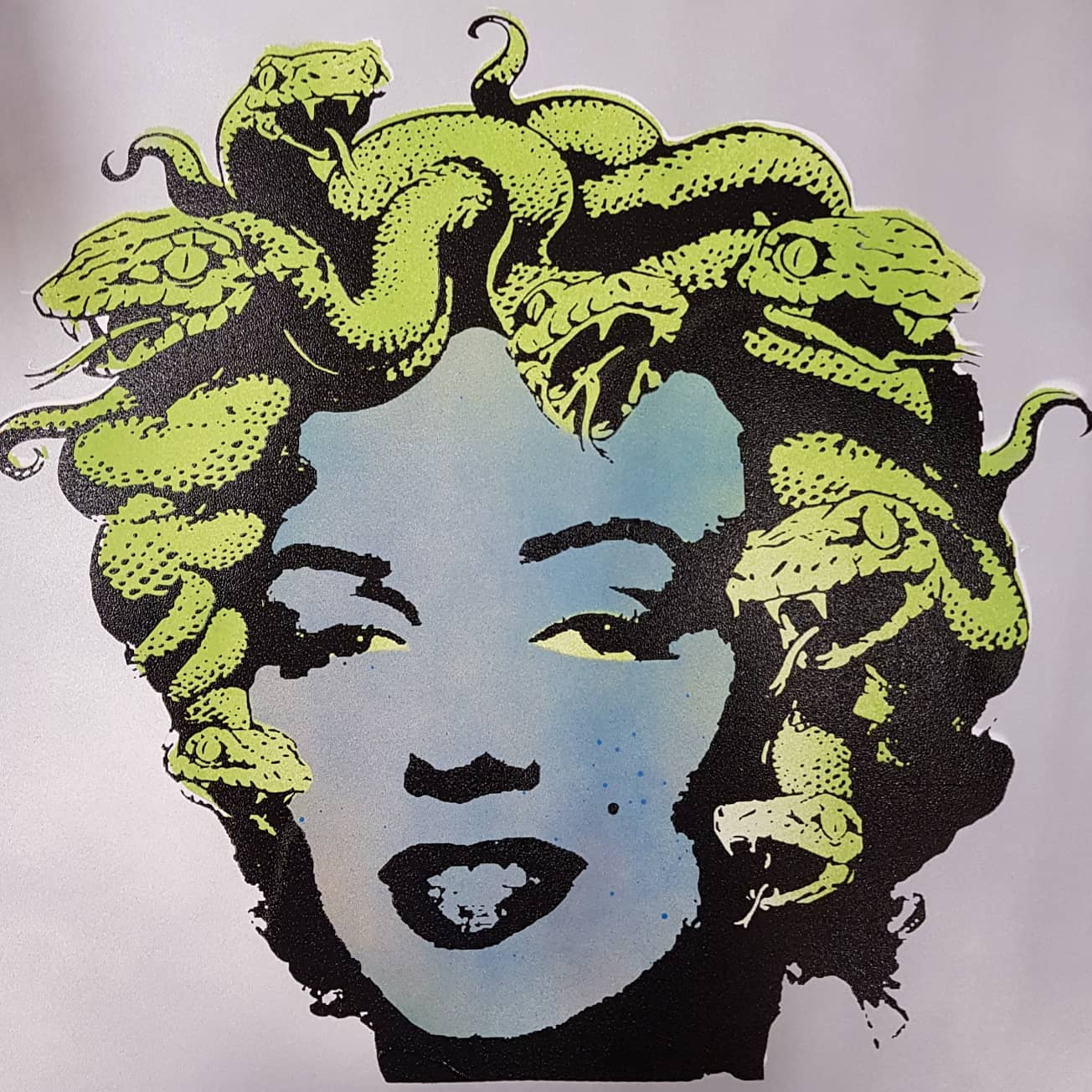 """Marilyn Medusa"" studio proof 4"