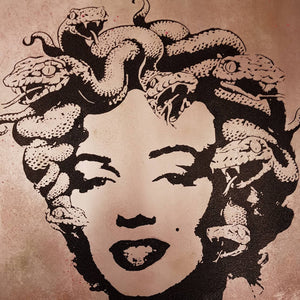 """Marilyn Medusa"" studio proof 6"