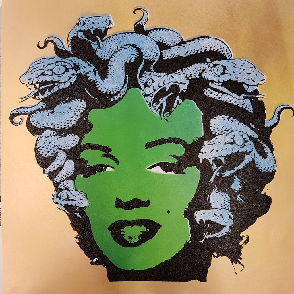 """Marilyn Medusa"" studio proof 8"