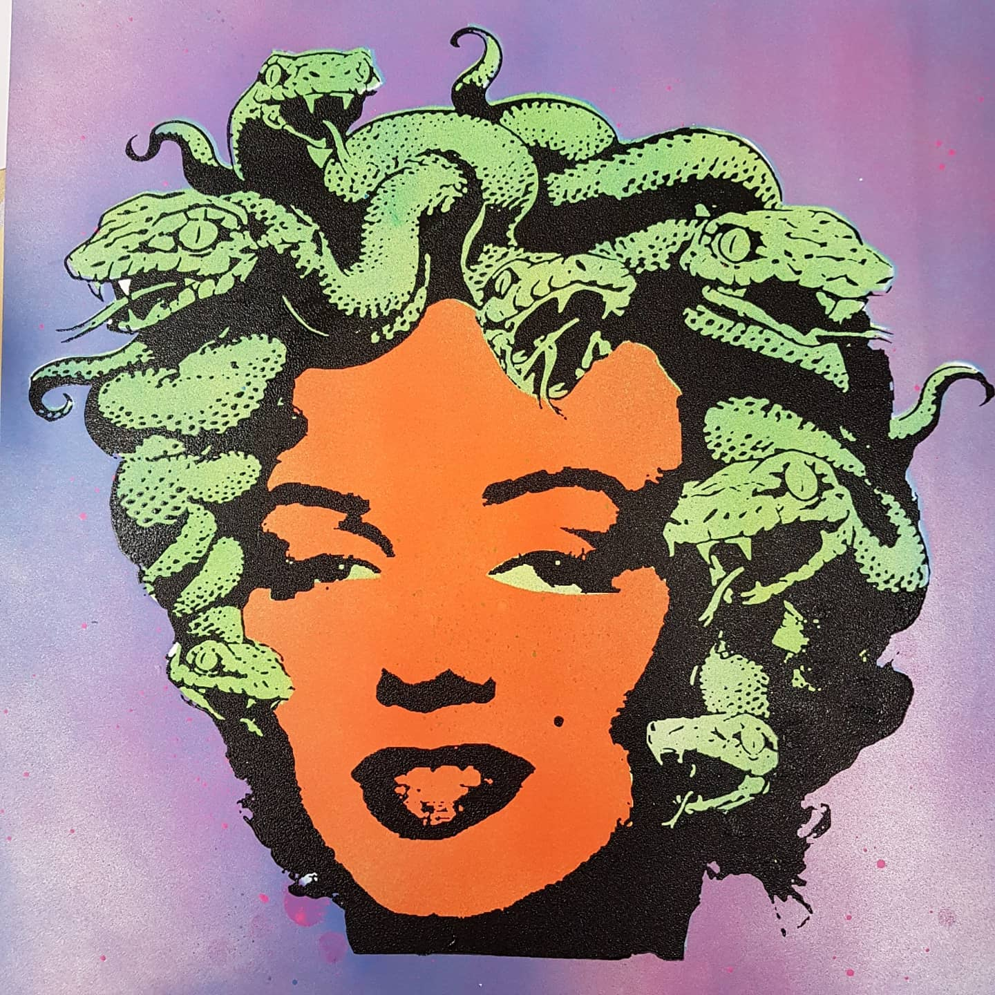 """Marilyn Medusa"" studio proof 9"