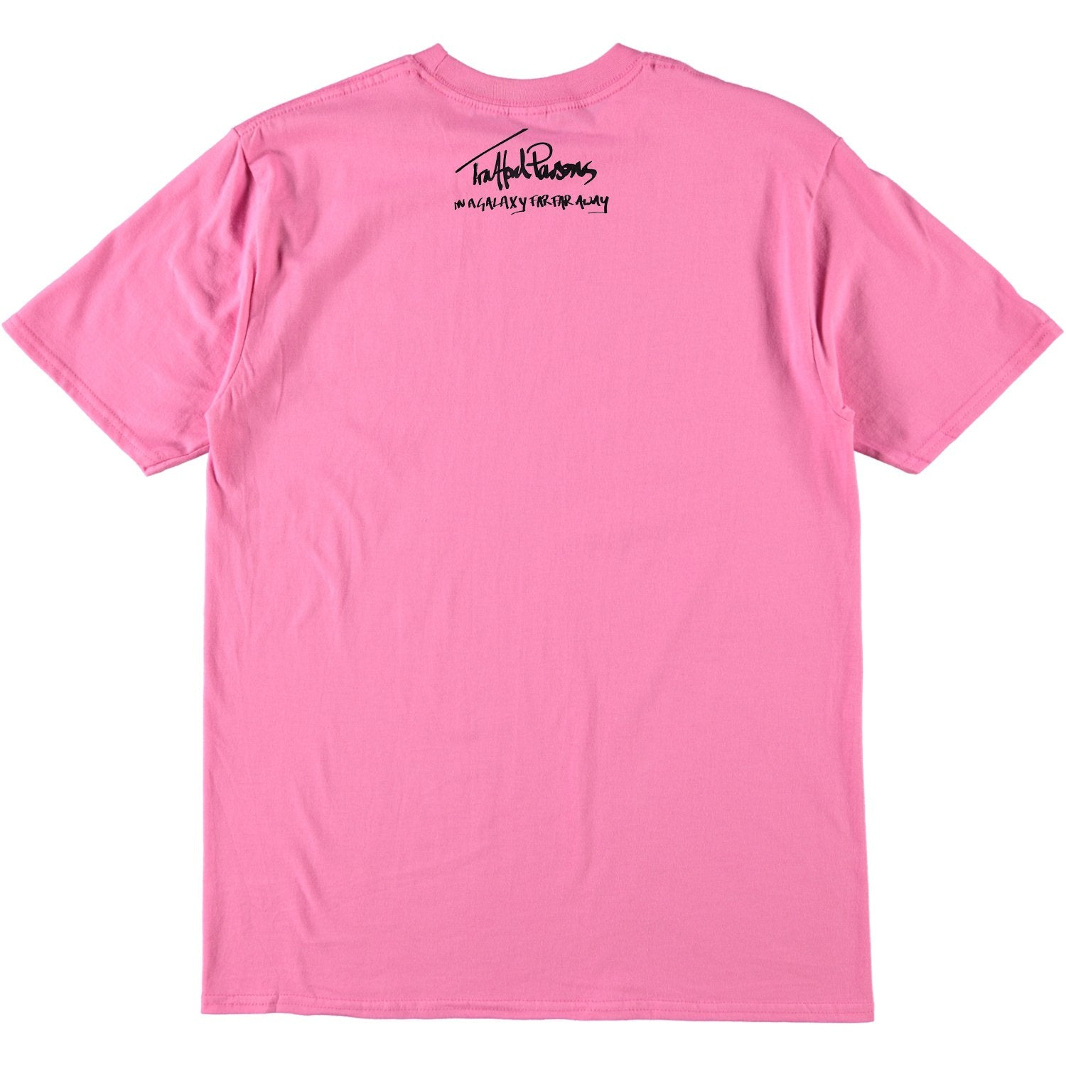 SRM x Trafford Parsons I Was Made For Loving You Tee Line Up Bright Pink
