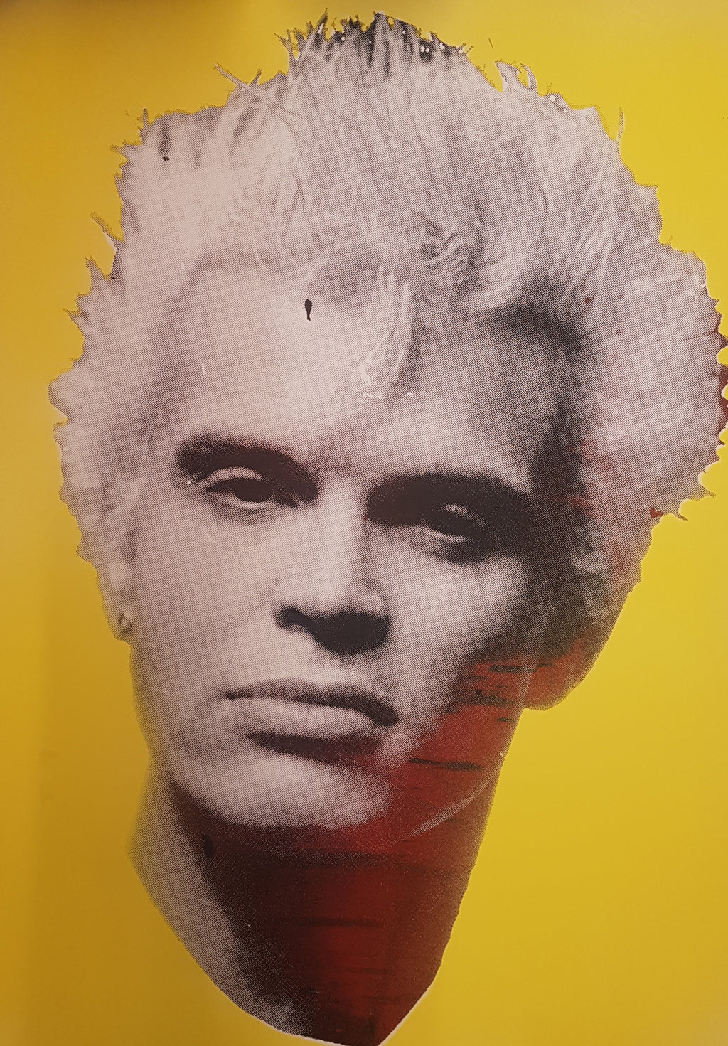 Billy Idol studio proof 1