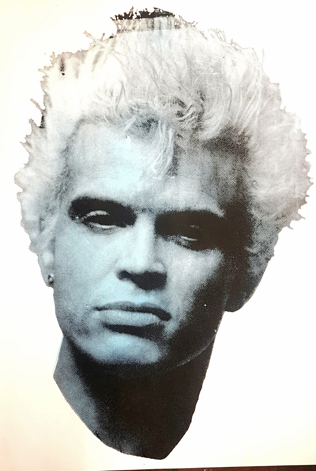 Billy Idol studio proof 8