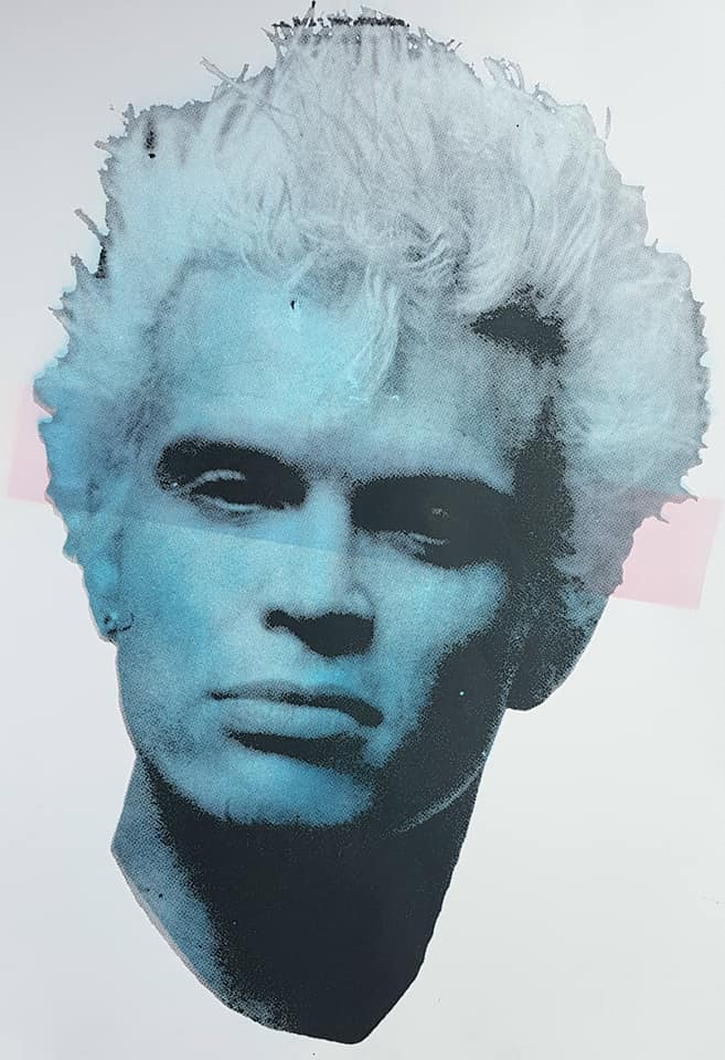 Billy Idol studio proof 19