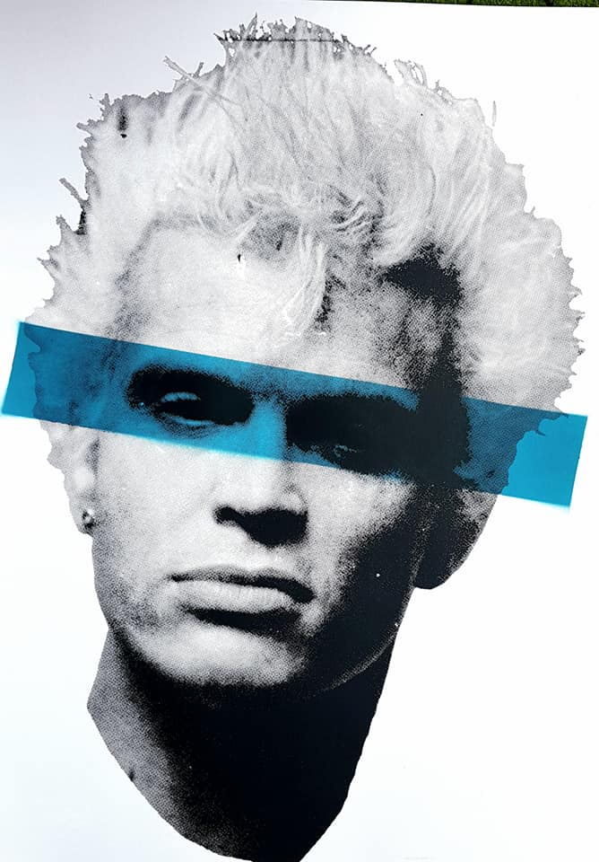 Billy Idol studio proof 14