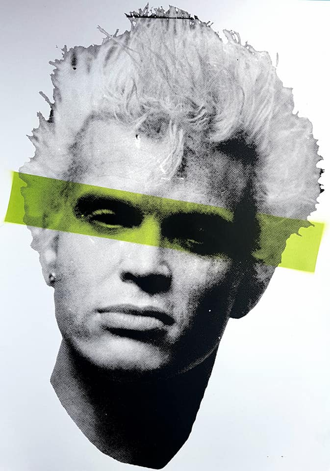 Billy Idol studio proof 16