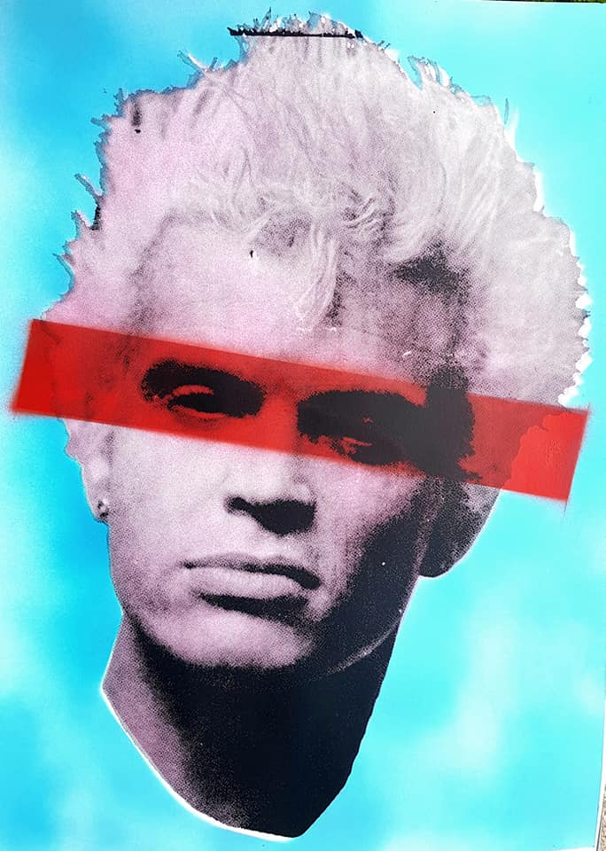 Billy Idol studio proof 15