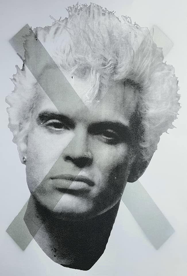 Billy Idol studio proof 25