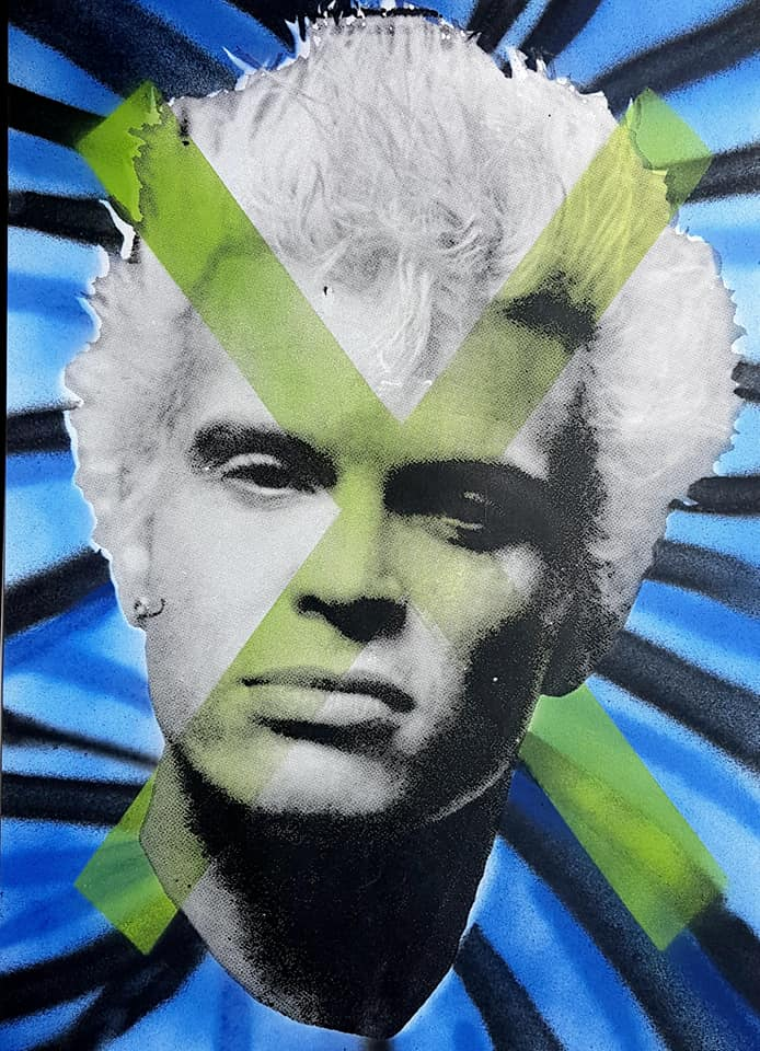 Billy Idol studio proof 22