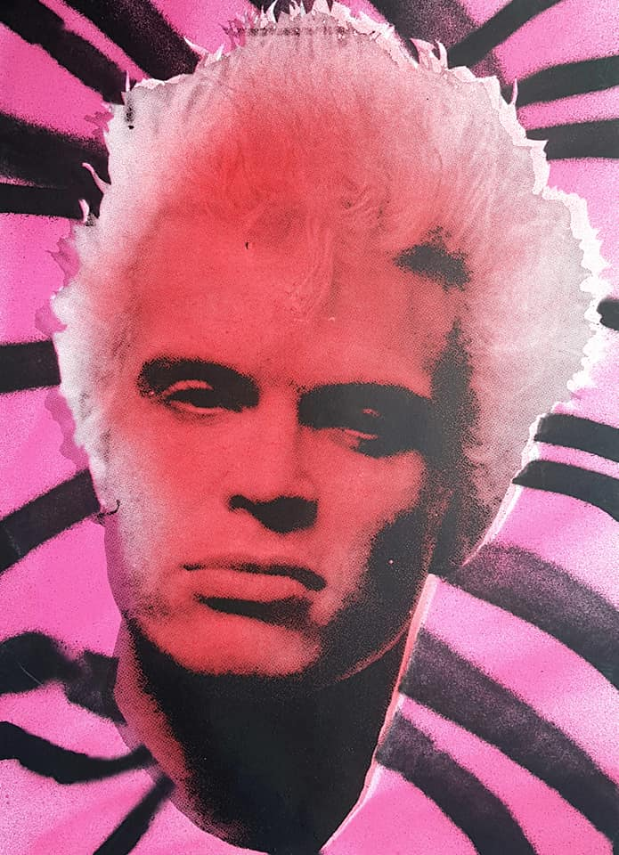 Billy Idol studio proof 23