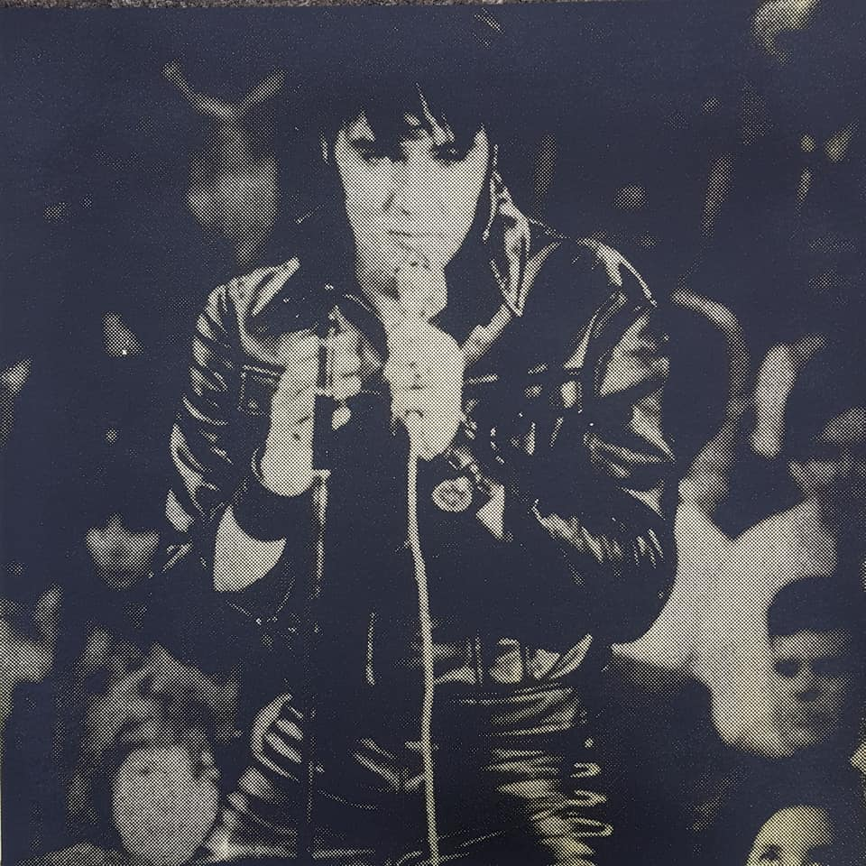 Elvis in leather,Comeback 68