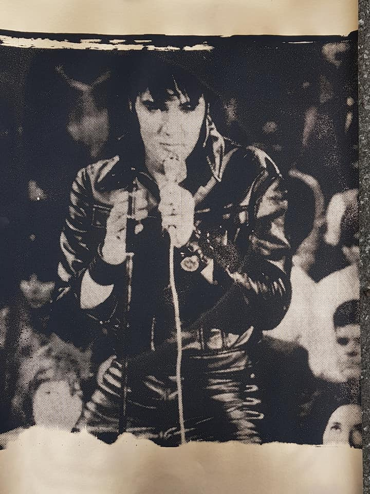 Elvis in leather,Comeback 68 XL