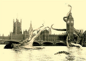 """Gaia Octopus at Westminster"""