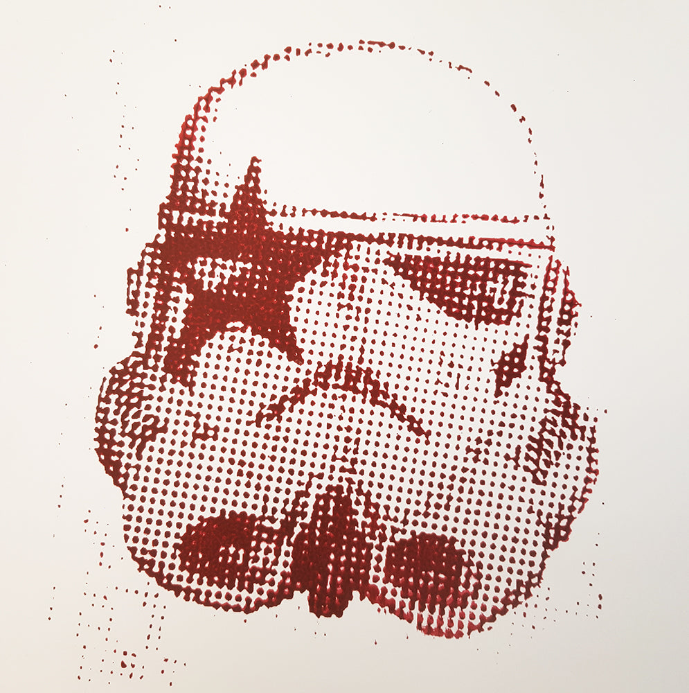 Kiss Storm Trooper Red Star Child - hand bill