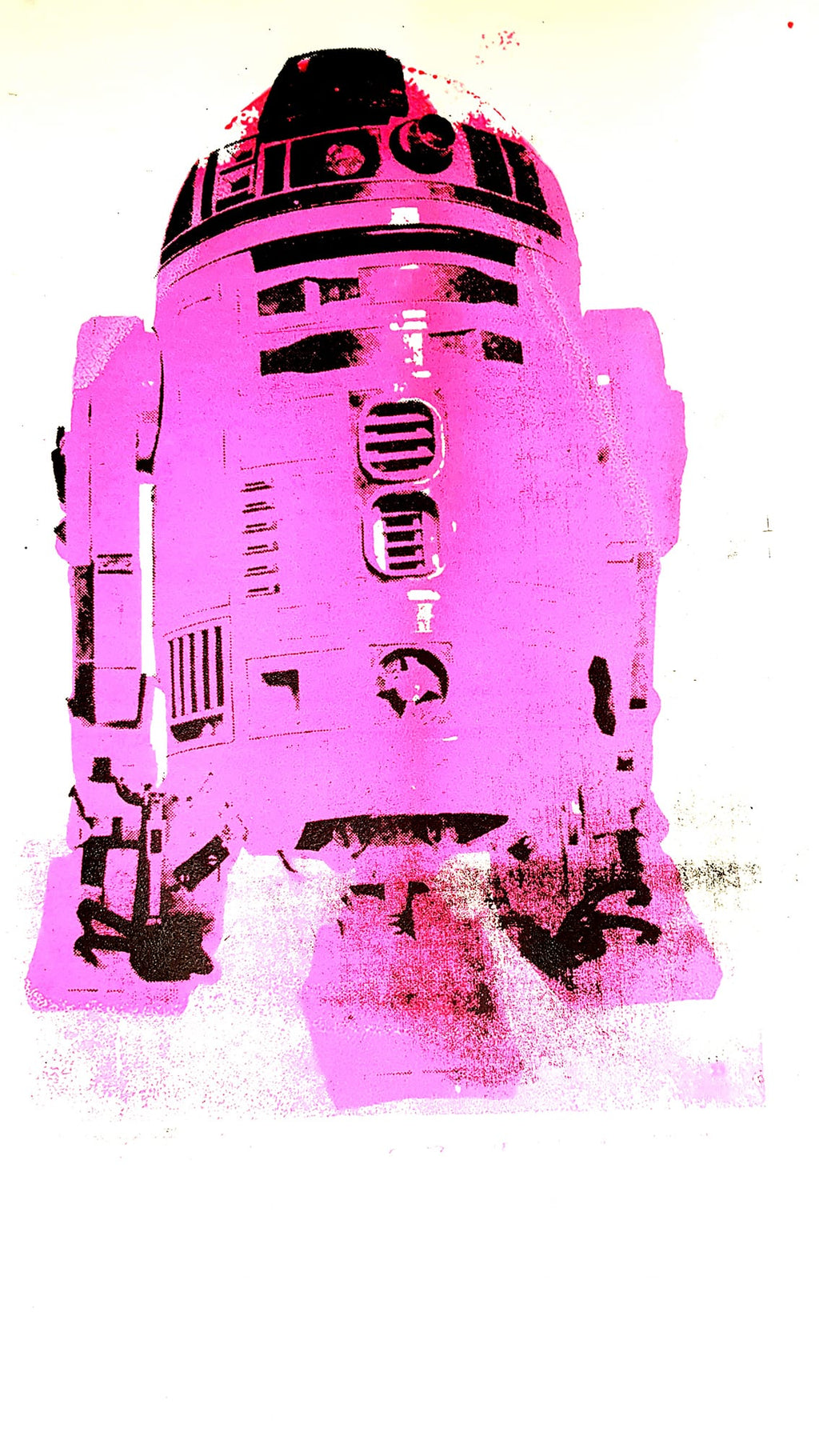 R2D2 Special edition Pink