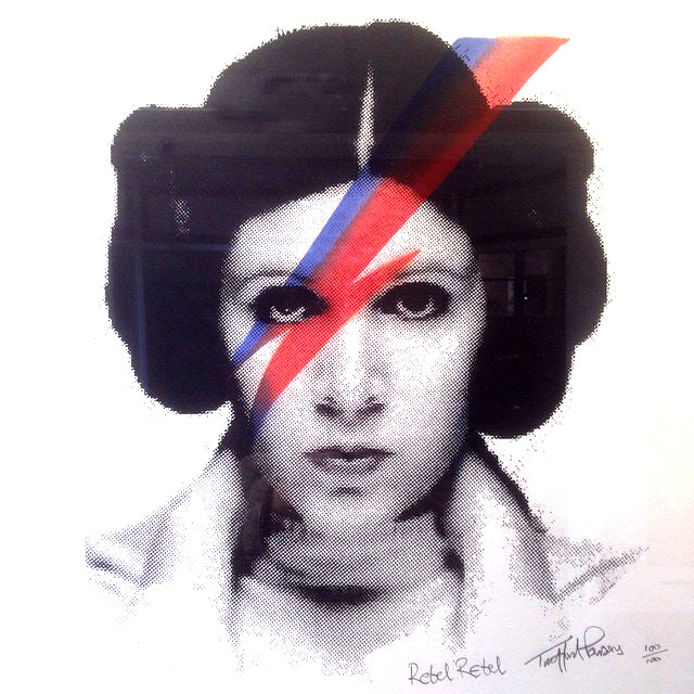 """Rebel Rebel"" Leia"