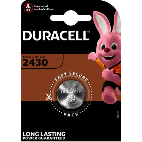 Duracell Knopfzelle 2430