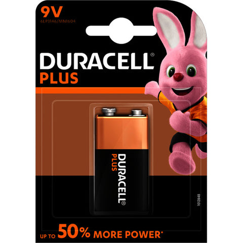 Duracell Block 9VOLT Power Plus 6LR61