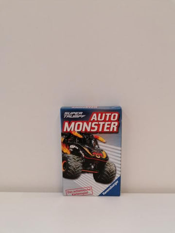 Quartett Auto Monster
