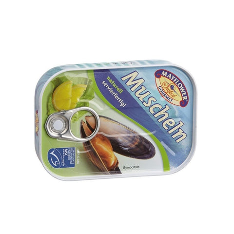 Mayflower - Muscheln naturell - 115 G