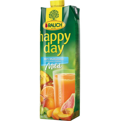 Rauch Happy Day - 100% Multivitaminsaft mild - 1 L