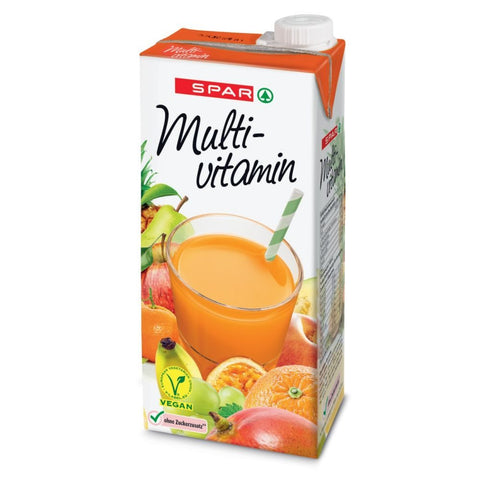 SPAR - 100% Multivitaminsaft - 1 L