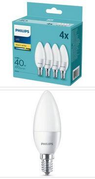 Philips LED Kerzenlampe 5,5W 470lm E14