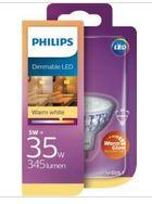 Philips LED Spot 5W GU5,3 345lm 2700K 12V dimmbar