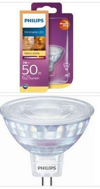 Philips LED Spot 7W GU5,3 621lm 2700K 12V dimmbar