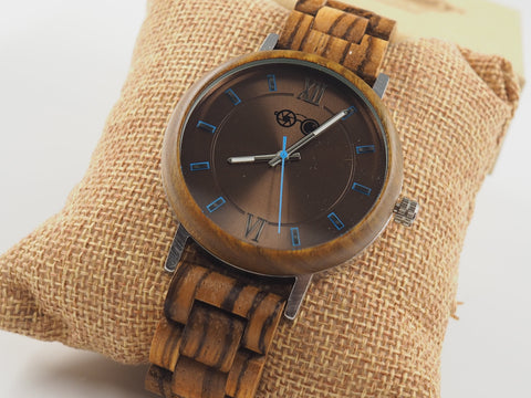 Idol Real Wood Lightweight Quartz  Watch - Shaydz