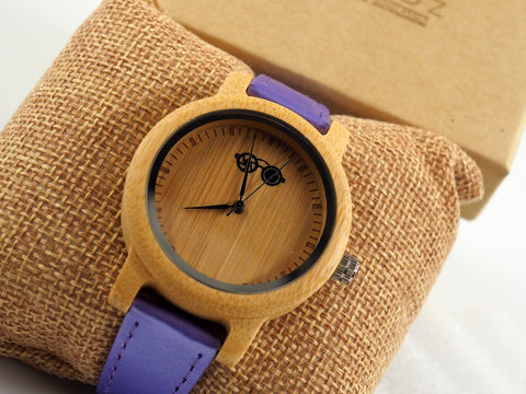 Holder Real wood Quartz Ladies Watch - Shaydz