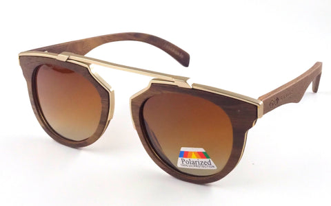 Firbank Real Wood/Metal Sunglasses - Shaydz