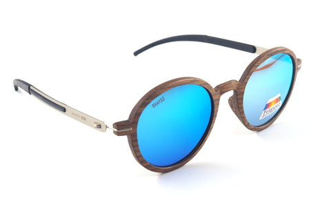 Arnison Real Wood Sunglasses           (2 Options) - Shaydz