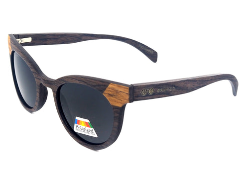 Harrison Real Wood/Metal Sunglasses - Shaydz