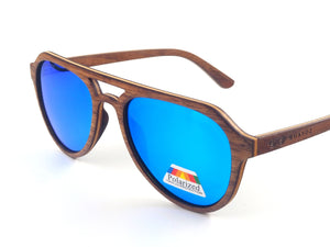 Allen Real Wood Sunglasses (2 Options) - Shaydz