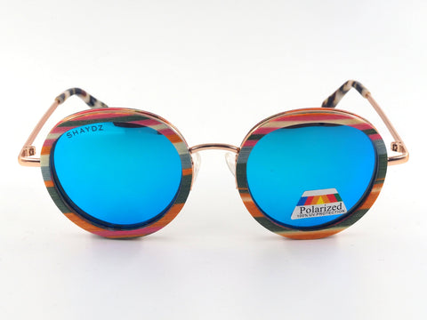 EXCLUSIVE Whinlatter Real Wood/Metal Sunglasses (3 Options) - Shaydz
